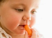 Q: What is the right age to start solids on my baby?